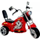 Rockin' Rollers Red Rocking 3-Wheel Chopper Motorcycle 6-Volt Battery-Powered Ride-On