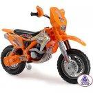 Big Toys Motocross Thunder Max VX 12V Battery Powered Motorcycle
