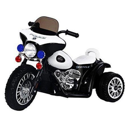 Aosom 6V Kids Ride On Police Motorcycle