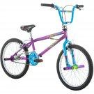 "20"" Mongoose Fling Girls' Freestyle Bike, Purple"