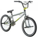 "20"" Mongoose Mode 100 Boys' Bike, Gray/Yellow"