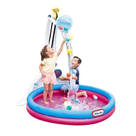 Little Tikes Fun Zone Drop Zone Kiddie Swimming Pool, Indoor/Outdoor