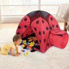 Play Tents for kids,Kids Pop-Up Backyard Camping and Sleepover Tent, Beetle(balls not included)