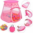 Portable Kid Baby Play House Indoor Outdoor Girls Toy Tent Playhut 100 Balls