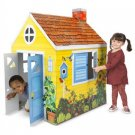 Melissa & Doug Country Cottage Indoor Corrugate Playhouse (Over 4 Feet Tall)