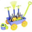 Best Choice Products 14-Piece Garden Wagon and Toy Set
