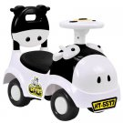 Gymax 3-in-1 Sliding Car Pushing Cart Walker Toddlers Ride On Toy Baby Calf w/ Sound