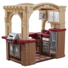 Step2 Grand Walk-In Play Kitchen & Grill with 103 Accessories