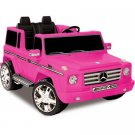Kid Motorz 12V Mercedes Benz G55 AMG Two-Seater Ride-On, Pink