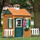 Big Backyard Bayberry Ready-to-Assemble Wooden Playhouse