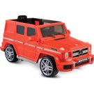 12V Mercedes Benz G63 AMG 1-Seater Battery-Powered Ride-On, Red