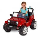 Kid Trax Fun Chaser 6V Battery Powered Ride-On, Red