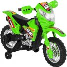Best Choice Products 6V Kids Electric Battery Powered Ride-On Motorcycle Dirt Bike  - Green