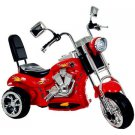Ride on Toy, 3 Wheel Trike Chopper Motorcycle for Kids by Lil' Rider -  Red