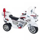 Ride on Toy, 3 Wheel Motorcycle Trike for Kids, Battery Powered Ride On Toy by Hey! Play! – White