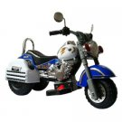 Merske Harley Style Motorcycle Battery Powered Riding Toy - Blue
