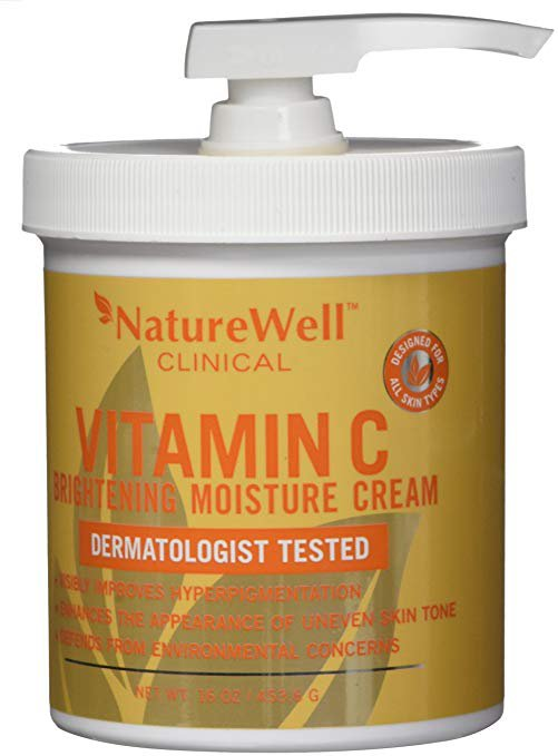Nature Well Clinical Vitamin C Brightening Moisture Cream 16 oz / 453.6 g