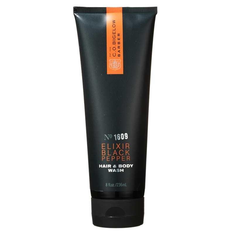 C.O. Bigelow ELIXIR BLACK PEPPER Hair & Body Wash No. 1609 (8 oz / 236 ml)