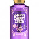 Bath & Body Works Merry Cherry Cheer Shower Gel 10 fl oz / 295 mL (2 Pack)