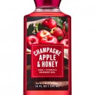 Bath & Body Works Champagne Apple & Honey Shower Gel 10 fl oz / 295 mL (2 Pack)