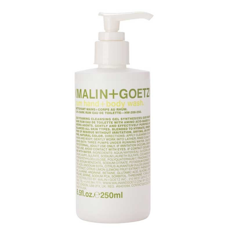C.O. Bigelow Malin & Goetz Rum Hand & Body Wash (2 Pack)