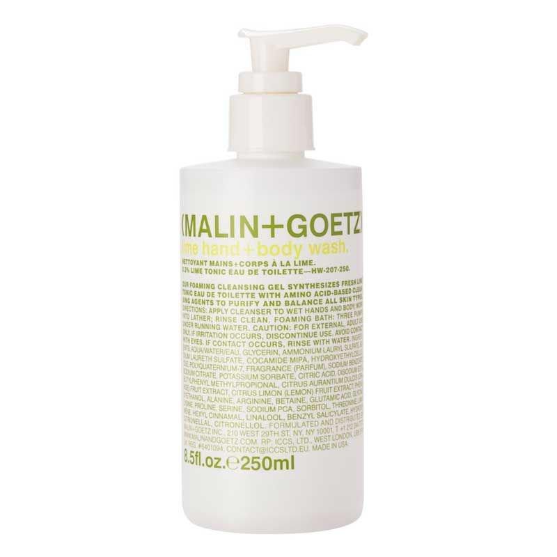 C.O. Bigelow Malin & Goetz Lime Hand & Body Wash (2 Pack)