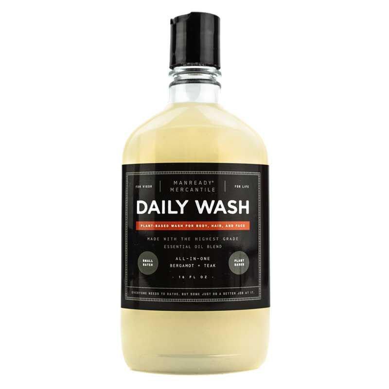 C.O. Bigelow Manready Mercantile All- In-One Daily Wash - Bergamot + Teak 16 oz (2 Pack)