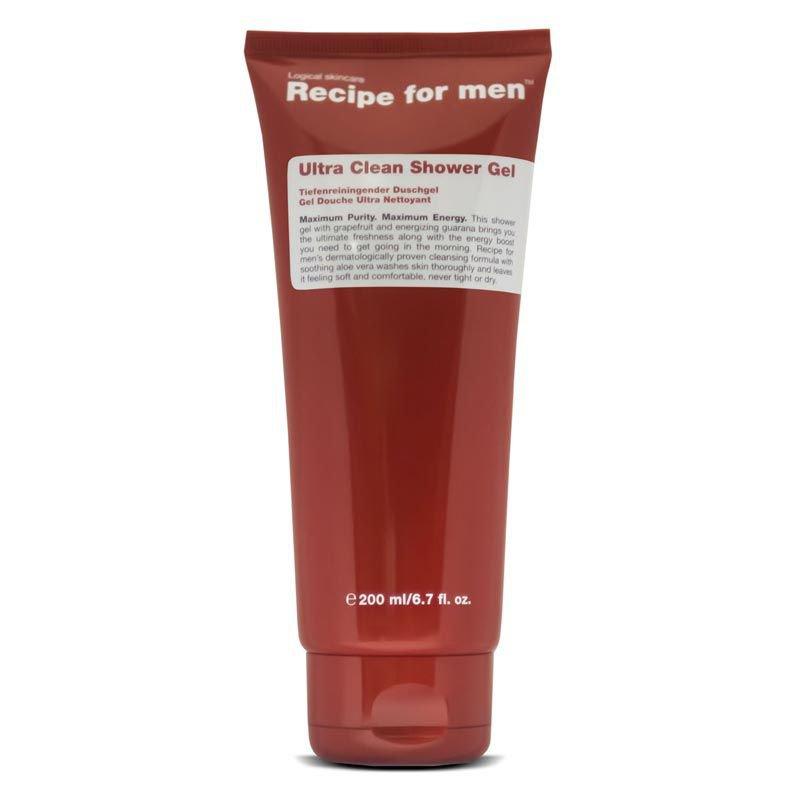 C.O. Bigelow Recipe For Men Ultra Clean Shower Gel (2 Pack)