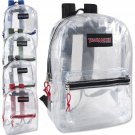 Trailmaker 17 Inch Clear Backpack - Choose One/Color
