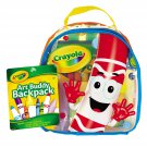 Crayola® Art Buddy Backpack, 38 Pieces, Ages 4 and Up
