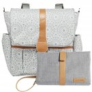 JJ Cole Backpack Diaper Bag with Bonus Matching Changing Clutch - Choose One/Color