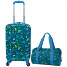 2 Piece Kids Luggage Travel Set - Choose One/Color
