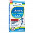 NuTherapy Turmeric 1000mg, Veggie-Capsules (120ct.)