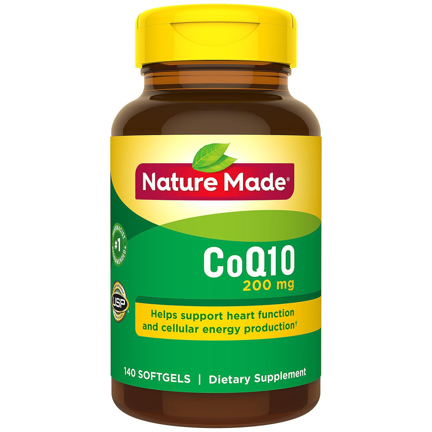 Nature Made CoQ10 200 mg Softgels (140 ct.)