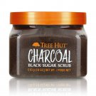 Tree Hut Charcoal Black Sugar Scrub 18 oz / 510 g (2 Pack)