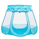 Kid Outdoor Indoor Princess Play Tent Playhouse Ball Tent Blue