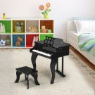Classic 30 Key Baby Grand Wooden Piano with Bench