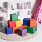 """12 Pcs 8"""" PU Foam Big Building Blocks for Kids"""