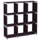 Multifunctional Assembled 3 Tiers 9 Compartments