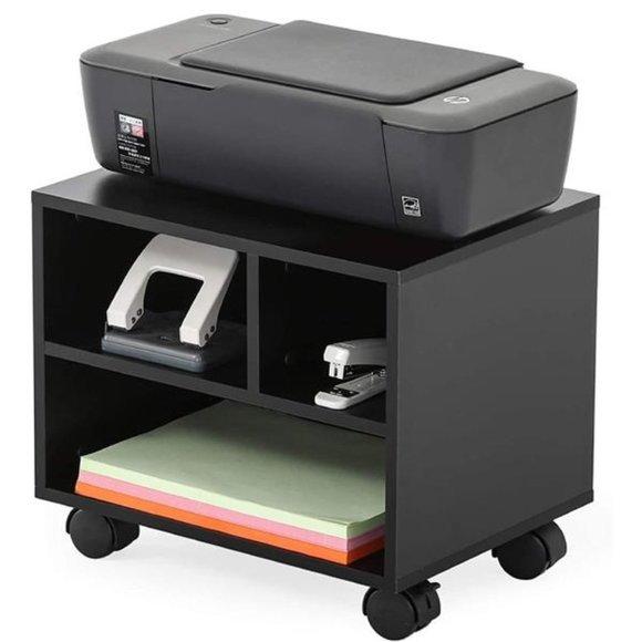 Mobile Under Desk Printer Machine Stand Work Cart