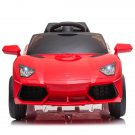 Kids Ride On Car Rechargeable Toy Vehicle with Remote Control-Red