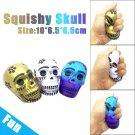 Exquisite Fun Galaxy Skull Scented Charm Slow Rising 10cm Kid Toys Gift
