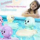 4PC Clockwork Toy Puppy Rowing Boat Bathroom Toy Baby Bathroom Toy Set