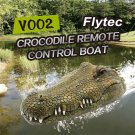 Flytec V002 2.4G Remote Control Electric Racing Boat Head RC Spoof Toy