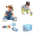 12PCS Children Percussion Toy Set Preschool Education Tool With Carrying Case