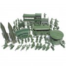 56PCS 5CM Military Soldiers Set Kit Figures Accessories Model For Kids Christmas