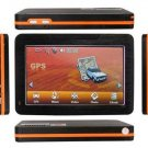 4.3 Inch LCD 372MHz Windows CE 6.0 +GPS Navigation System FM Transmitter+2GB Maps SD