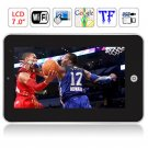 Android 2.2 (Flash10.1) VIA8650 800MHz 512M RAM 4GB WIFI 3G 7 Inch WVGA TFT Resistive Tablet PC