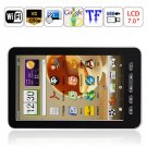 7 inch LCD Touch Screen Andriod2.1 TCC8902 720MHz 256M 4GB WIFI 3G GPS Tablet PC