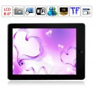 Android 2.2 Rockchip 2818 Dual Core RAM 128MB ROM 2GB WIFI Camera 8-inch Tablet PC